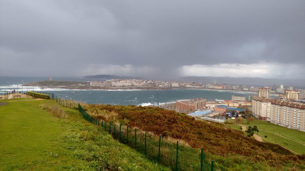 Stormachtig en regen