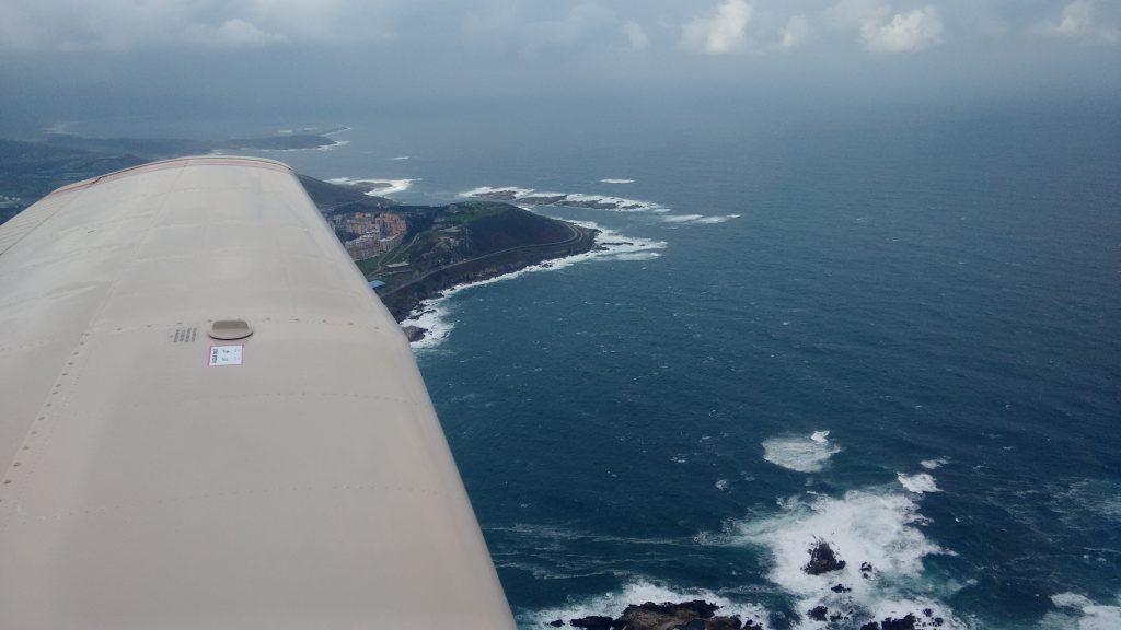 Take off van La Coruña