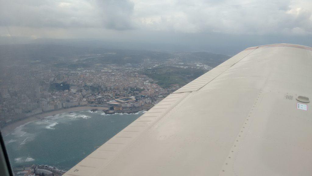 We laten La Coruña achter ons